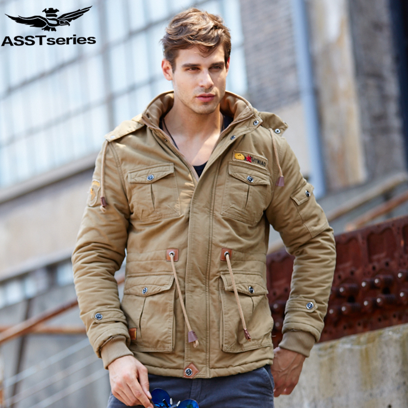 2016 Winter Parka Jacket Men Men's Military Tactical Army Jackets And Coats Thick Warm Down-cotton Parka Outwear Overcoat.DB12 hot sale winter jacket men fashion cotton coat warm parka homme men s causal outwear hoodies clothing mens jackets and coats