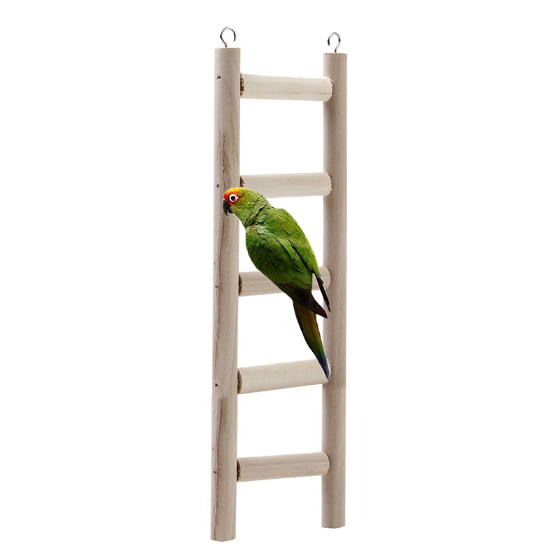 Hammock Hamsters Parrots Wooden Beads Bird Ladder Hanging Stairs Toys  Suitable For Hamsters Mice And Parrot