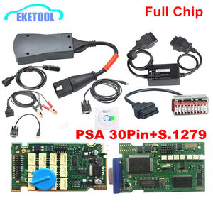 Image 1 - Newest Diagbox 7.83 Lexia3 A+Quality Full Chips 12pcs Relay 7pcs Optocouplers FW 921815C Lexia 3 PP2000 +PSA 30PIN+S.1279 Moduel