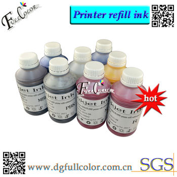 Eco-Solvent CISS Kits For R1800 Ink Refill System 500ml Bottle Per Color Refilling T0540 Ink System