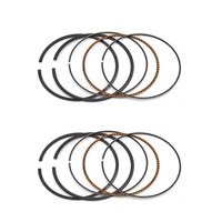 2 Sets Bore Size 65mm Motorcycle Standard Piston Ring For SUZUKI VZ400 VZ 400 1997 2001