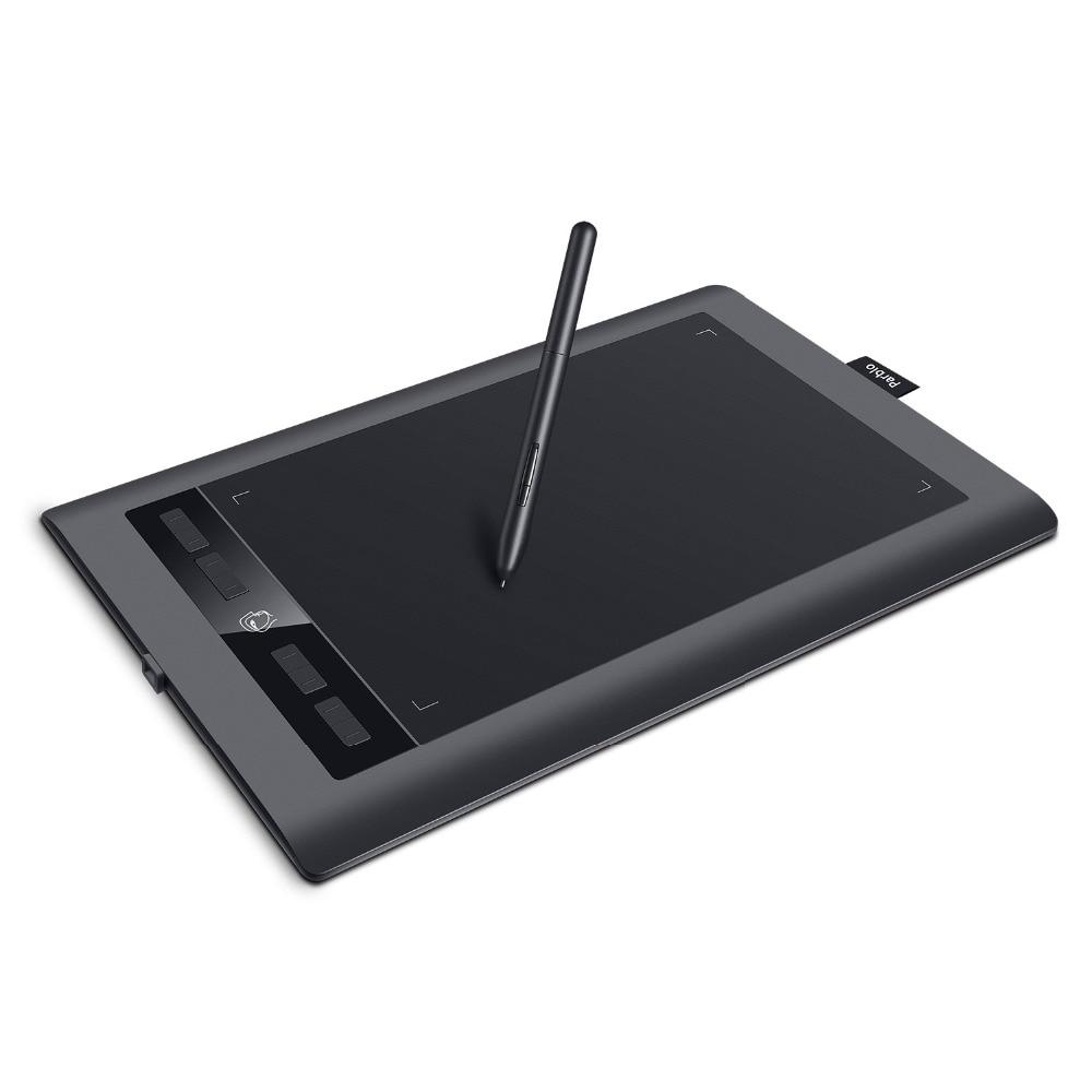 Parblo A610 S 10 ''x 6'' Professionale Tavoletta Grafica Digitale Art Tavoletta grafica 8192 Livelli di Pressione Della Penna + due dita