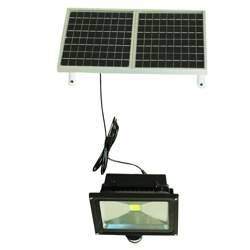30W LED security light reflector solar flood light garden lights Human Body Motion Sensor Pathway Solar Lamp Outdoor Waterproof