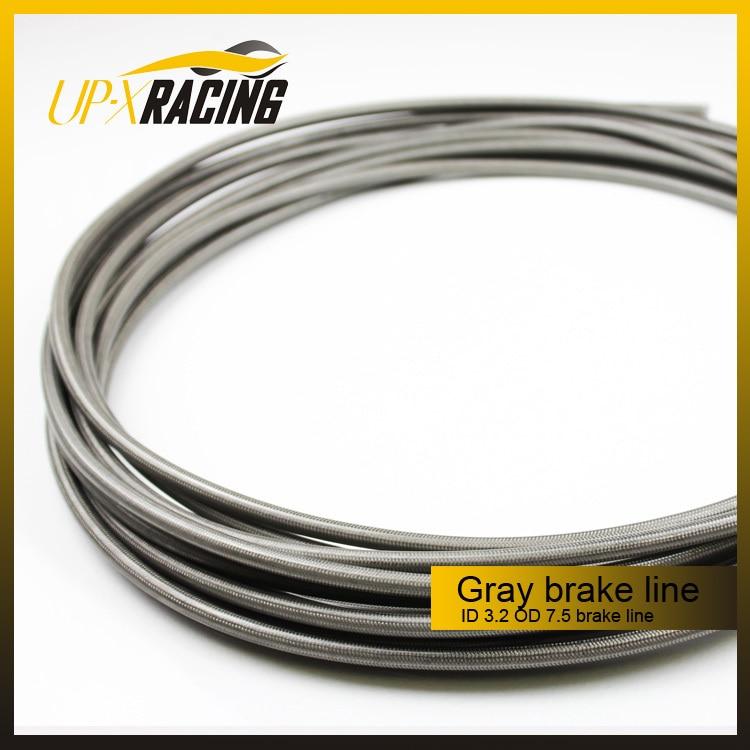 Motorcykel Motor Cykelbremselinjer bremseslanger Rustfrit stål tilbehør til bremser Nylon