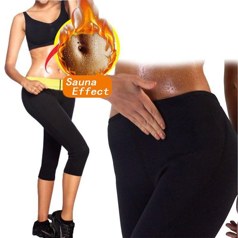 Alinory Sauna Legging Shorts De Sport en N/éopr/ène Hommes Femmes Fitness Minceur Sauna Legging Pantalon Sueur Chaude Forme du Corps S
