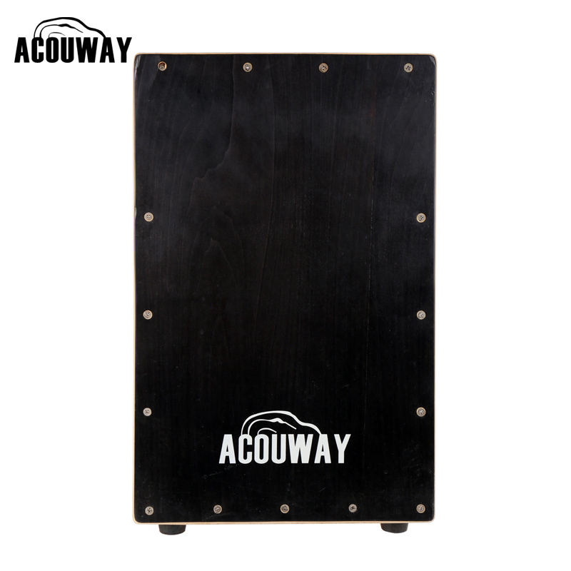 ACOUWAY cajon drum box Hand Drum Birch Plywood with adjustable string effect rubber feet for adult size 30X31X48(CM) plywood