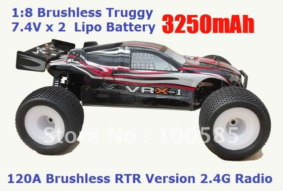 buy 1 8 scale 4wd brushless truggy ready. Black Bedroom Furniture Sets. Home Design Ideas