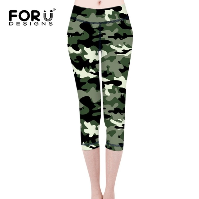 FORUDESIGNS Camo Women Leggings 3D Printed Legins Workout Legging Bodybuilding Pants Jeggings Leggins Ropa Deportiva Mujer 2017