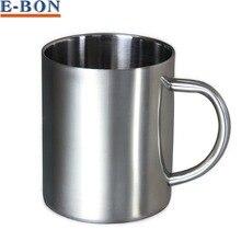 Hohe Qualität 220 ml Edelstahl-kaffeetasse Tumbler Camping Becher Tasse Tee Doppelwand Trinkgefäße Kostenloser Versand