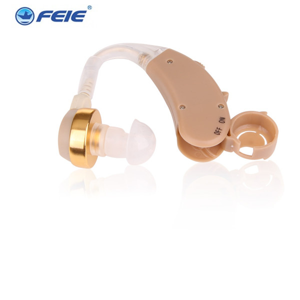 New Tone Hearing Aids Aid Behind The Ear Sound Amplifier Sound Adjustable Kit Free Shipping & Drop Shipping S-168 ce fda approved best digital tone hearing aids aid behind the ear sound amplifier brand new