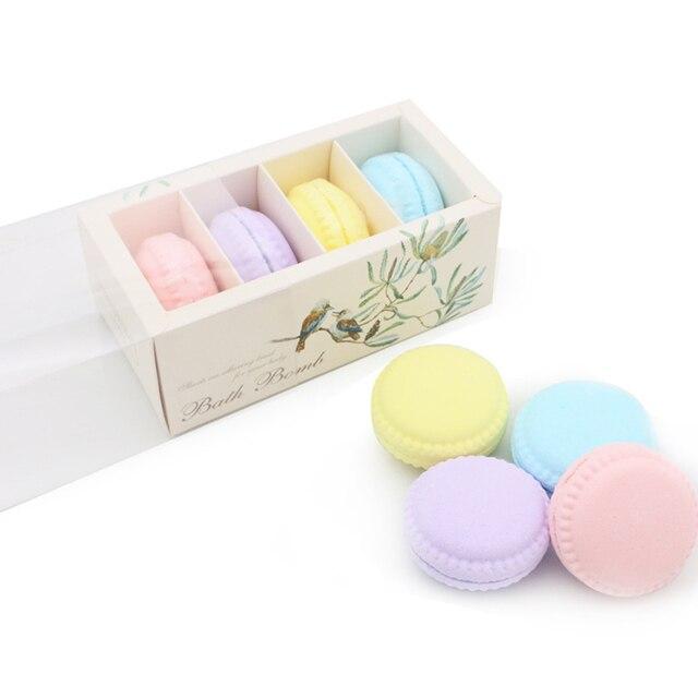 1set  Fizzy  Bath Bombs Organic Bath Bomb Gift Set Kit Sweetest Strawberry Exfoliating Moisturizing Skin Care Bubble Bath Bombs