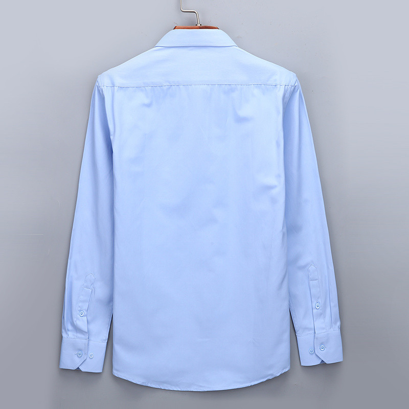 HTB1r0lNWkzoK1RjSZFlq6yi4VXaS - Plus Large Size 8XL 7XL 6XL 5XL 4XL Mens Business Casual Long Sleeved Shirt