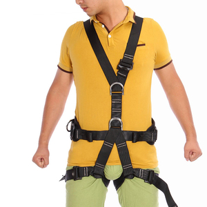 Image 5 - XINDA Top Quality Professional Harnesses Rock Climbing High altitude protection Full Body Safety Belt Anti Fall Protective Gear
