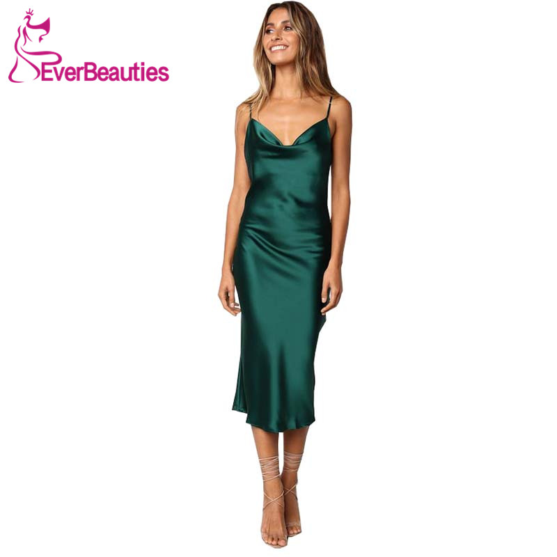 Robe Demoiselle D'honneur Women's   Bridesmaid     Dress   2019 Spaghetti Straps Party Gown   Dress   for Wedding Party