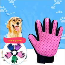Pet cat glove wool glove for dog horse combing wool pet glove brush anti bite gloves dog accessories