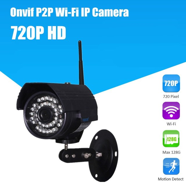 IP Webcam CCTV Security Internet HD 720P ONVIF Camera video surveillance wi-fi camera waterproof camera