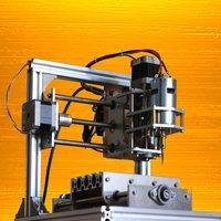 Mini 24V 5A DIY 3 Axis CNC Engraver Engraving Machine 130x100x40mm PCB Milling Wood Carving Engraving