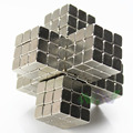 Hot Sale3mm 216 pcs Puzzle Cube Toy Sphere Magnetic Balls 6*6*6 with Metal box Free Shipping