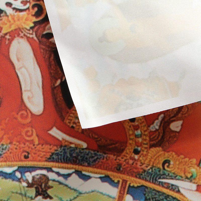 Wheel of Life Tibetan Embroidery Silk Samsara Amitabha Buddha Thangka Wall Art