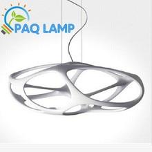Современная люстра лампа концепция куб диаметр 46 см смола подвеска гостиная ресторан бар исследование из светодиодов светильник