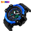 SKMEI Sport Watch Men Fashion Outdoor Waterproof Wristwatch Dual Time Zones Multifunction Digital Quartz Men Watches
