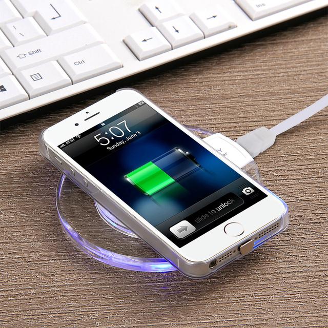 Module + Dock de recharge sans fil Qi pour iPhone
