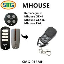 Portable Garage Door Gate Remote Control Key 433.92Mhz 4B Car Gate Opener Key Fob For Mhouse MyHouse TX4 TX3 GTX4 sea gate remote control duplicater fob sea smart tx2 sea smart tx3 sea 868 mhz