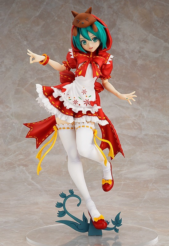 Anime Hatsune Miku Red Riding Hood Action Figure Collectible Model Toy | 25cm