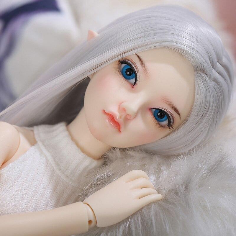 Oyuncaklar ve Hobi Ürünleri'ten Bebekler'de Fairyland Minifee Siean elf Fullset Takım Elbise 1/4 BJD SD bebek Fairyline Moeline MSD Luts Littlemonica'da  Grup 2