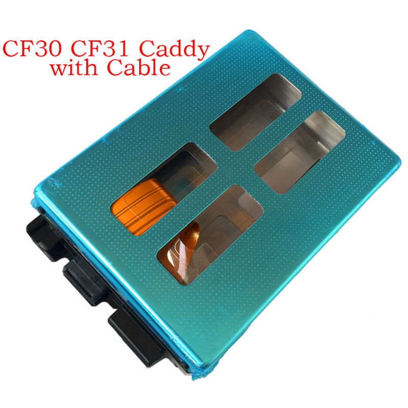 Replacement Hdd Caddy with genius flex cable For Panasonic Toughbook CF 30 CF30 CF 31 CF31 Hard Disk Caddy with Cable