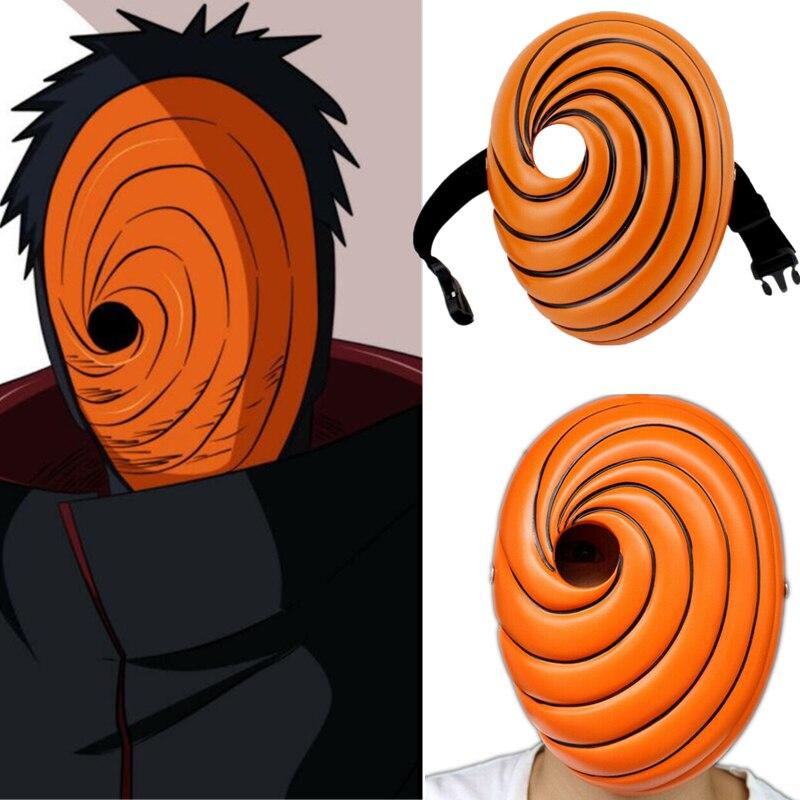 Naruto Uchiha Obito Tobi Madara Mask Resin Cosplay White Be