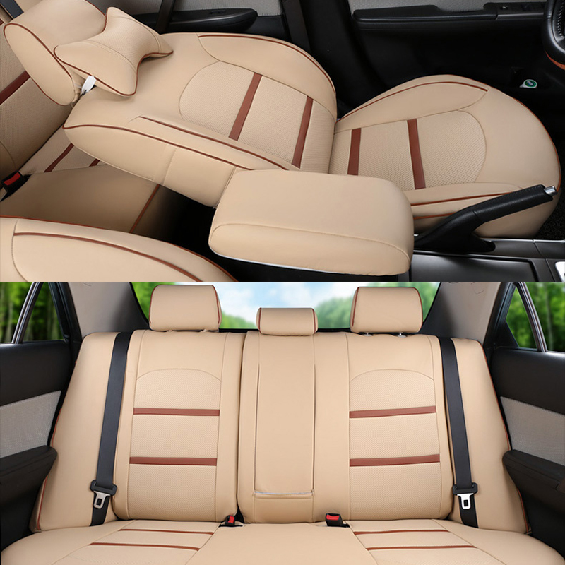 Strange Us 425 85 49 Off Cartailor Car Seat Cover Set For Toyota Sienna Automobiles Seat Covers Quality Pu Leather Cover Seat Car Styling Seat Protector In Ncnpc Chair Design For Home Ncnpcorg