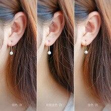 Sterling Solid Silver Freshwater Pearl Stud Earrings