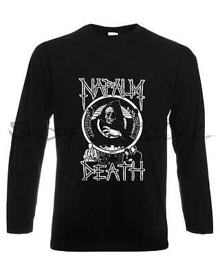 dd20ecb45 Detail Feedback Questions about NAPALM DEATH 1 LONG SLEEVE T SHIRT ...