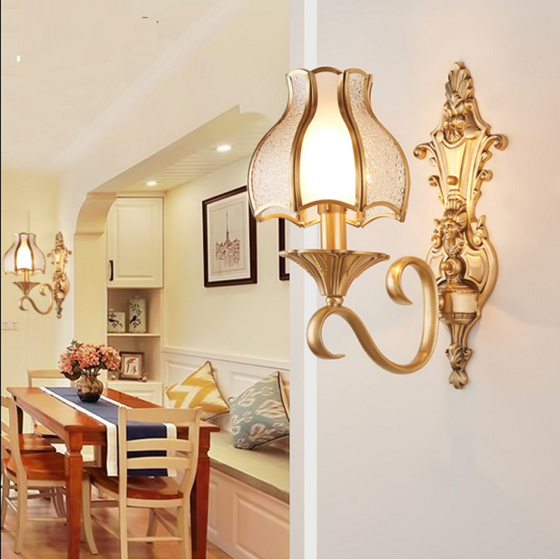 Copper LED Wall Lamp Corridor Aisle Bedroom Wall Lamps hotel wall sconce bedroom bedside lights Gold Wall Lamp Bathroom Sconces modern crystal led wall lamp star wall light bedside lamp wall sconces bathroom fixture lamp set corridor aisile ceiling lamp