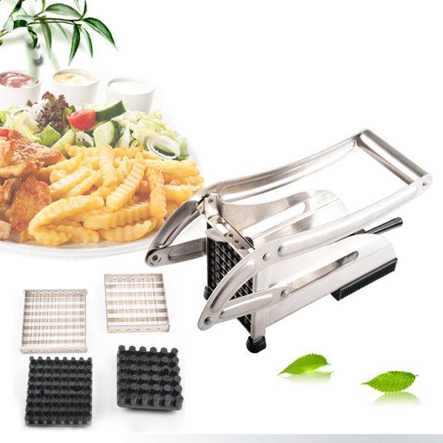 New Potato Chips Strip-cutter Practical Kitchen Tool Accessories For Potato Chips Strip Cooking Tool All stainless steel