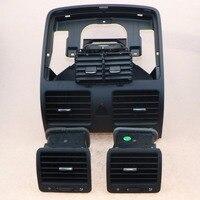 Автомобильный Центральный кондиционер воздуха на выходе выхлопная труба для VW Jetta 5 Golf MKV кролик 1KD 819 728 1KD 819 203 1KD 819 703 1KD 819 704