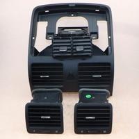 Car Center Air Conditioner Outlet Vent Nozzle Set For VW Jetta 5 Golf MKV Rabbit 1KD 819 728 1KD 819 203 1KD 819 703 1KD 819 704