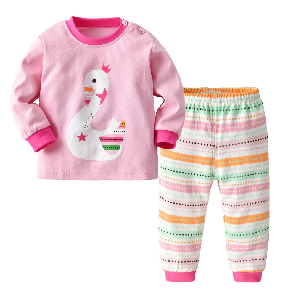 YGUII The Childrens Place Big Girls Top and Shorts Pajama Set Pink