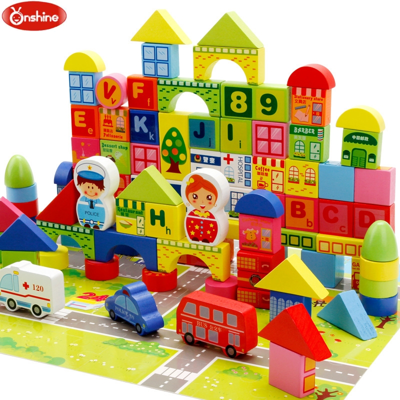 160 pieces Montessori Wooden Car Set Learning and Education City Traffic Wooden Blocks Geometric Shape Early Child Xmas Gifts160 pieces Montessori Wooden Car Set Learning and Education City Traffic Wooden Blocks Geometric Shape Early Child Xmas Gifts