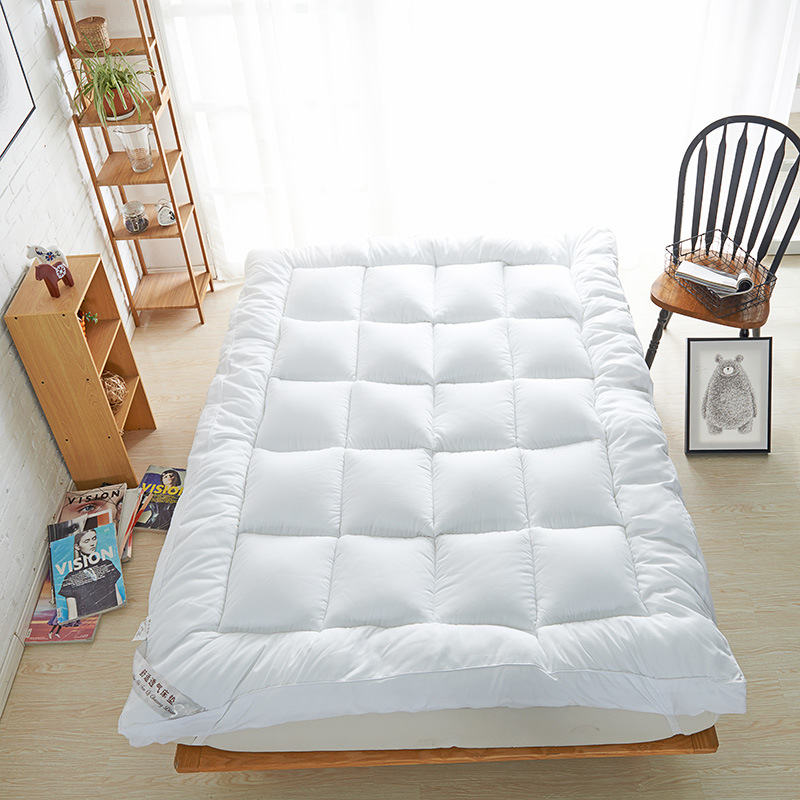 soft warm Four colors Mattress 10cm thickness queen full twin size wfgogo thickness 23 cm spring mattress twin high density vacuum compression foam latex soft bed bedding