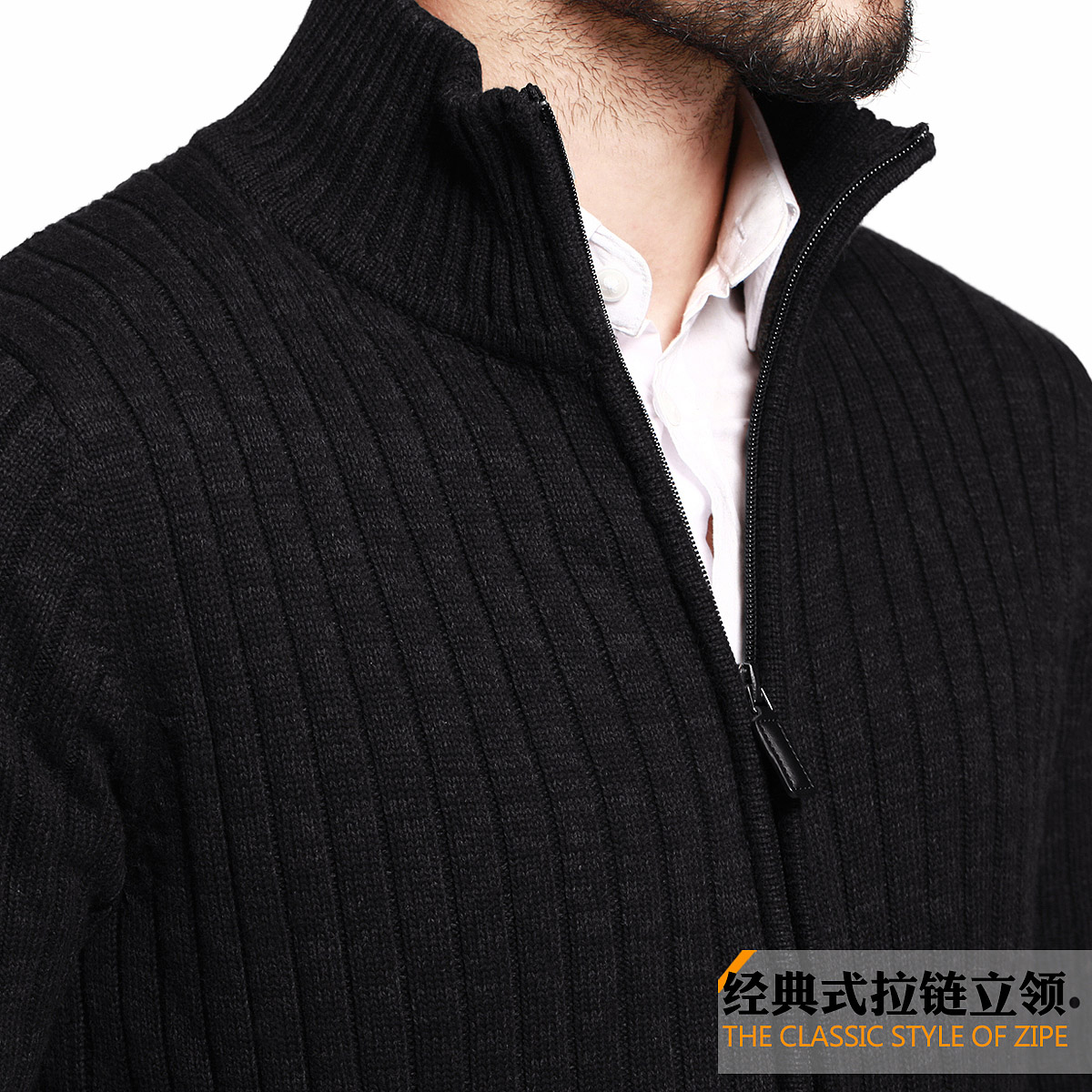 2015 Sale Top Cardigans Cotton Full Turtleneck Mens Sweaters Kugou ...