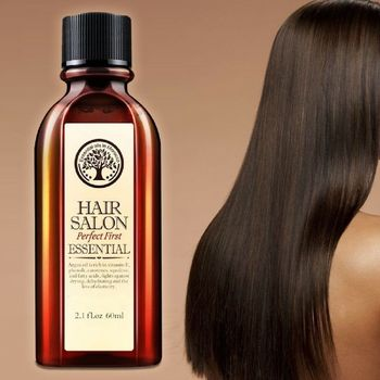 60ml Hair & Scalp Care Essential Oil Treatment for Moisturizing Soft Hair Pure Argan Oil Dry Hair Repair Multi-functional multi functional hair care moroccan pure argan oil hair essential oil for dry hair types hair 60ml