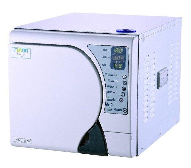 18L Esterilizador a vapor de Controle Completo Do Computador Vapor Dental Autoclave Esterilizador com impressora Frete Grátis para a Europa
