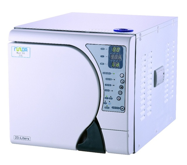 Steam Sterilizer 18L Full Computer Control Steam Dental Autoclave Sterilizer with printer Free Shipping to Europe