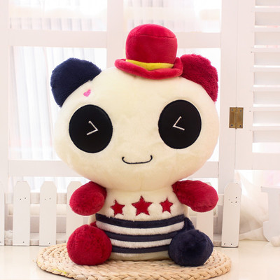 cartoon panda plush toy large 65cm panda soft hug pillow, Christmas gift F046 lovely giant panda about 70cm plush toy t shirt dress panda doll soft throw pillow christmas birthday gift x023