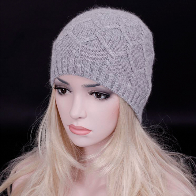2016 Winter Autumn Fashion Women Wool Knitted Beanies Twist Pattern Caps Hats Female Knitted Warm Skullies lady snow cap
