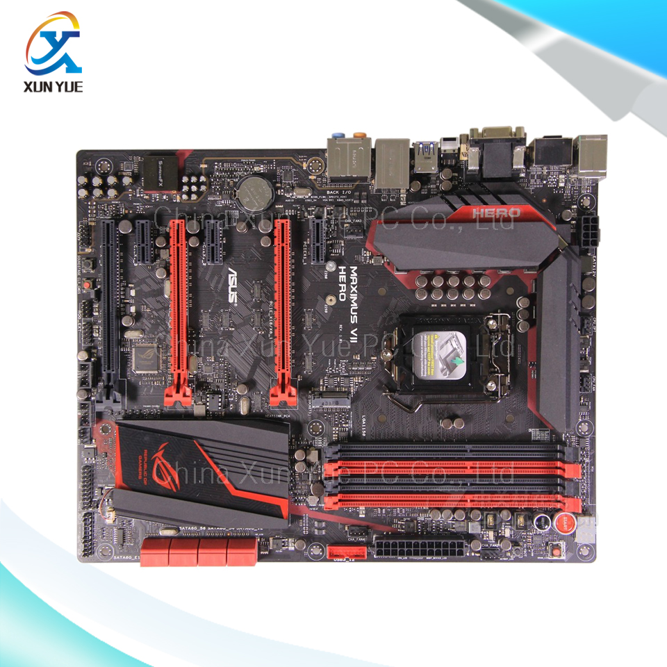 New asus h81m k motherboard cpu i3 i5 i7 lga1150 intel h81 ddr3 sata3 - For Asus Maximus Vii Hero Original Used Desktop Motherboard For Intel Z97 Socket Lga 1150 For