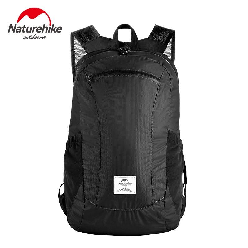 NatureHike Folding Backpack Sport Men Travel Backpack Women Ultralight Portable Outdoor Waterproof Bags Quick Drying