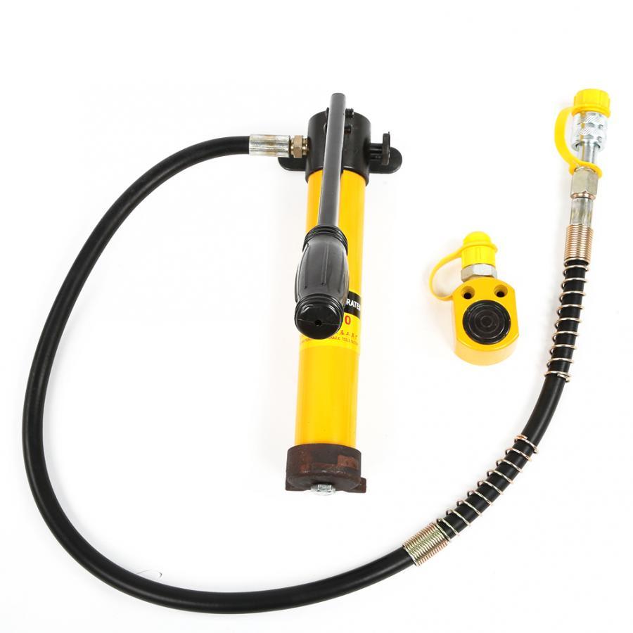 Hydraulic Jack Pump Oil Lift Jacks Portable Split Type 5 Ton Hydraulic Jacks With 700/20 Kg/cm Manual Hydraulic Pump
